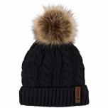 Catago kootud tutimüts / must