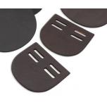Sadulavöö pannalde kate / must, 2 avaga