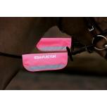 Equi-Flector valjaste/päitsete helkurid / roosa