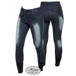 Jeans täisgrippidega ratsapüksid