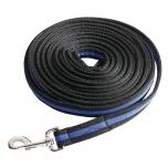 Black Duo kahevärviline korde 8m / must-royal sinine