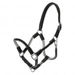 Cavo nööriga nahkpäitsed + jalutusnöör / must-hall