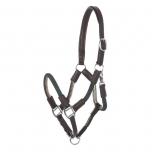 Cavo nööriga nahkpäitsed + jalutusnöör / pruun-tumeroheline