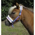 "Päitsed ponidele ""Bright Striped Fur Trim"" / mini shetland"
