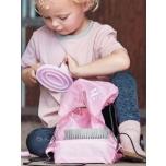 """Seljakott harjadele + harjad lastele """"Cutie Kids"""" / roosa"""