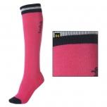 """Ratsapõlvikud """"KavalSocks-Stripe"""" / roosa-tumesinine S (35-38)"""
