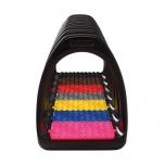 Reflex värviliste põhjadega jalused