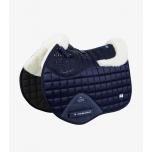 "Üld- ja hüppevaltrap ""Capella Close Contact Merino Wool"" / full, tumesinine-naturaalne"