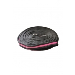 Black Duo kahevärviline korde 8m / must-roosa