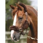 PE Luxury Merino lambavillaga päitsed / full, pruun-pruun