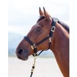 Topaz nailonist päitsed / extra extra small pony, must
